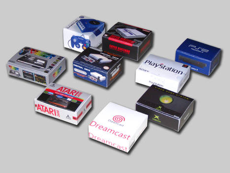 Packaging for Mini Consoles by DrOctoroc