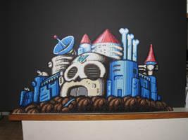 Skull Castle Bead Sprite by DrOctoroc