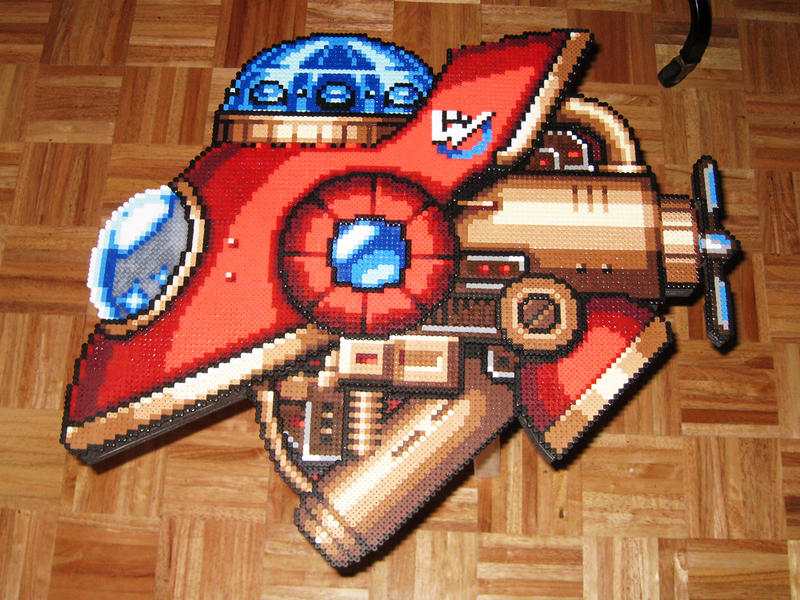 Wily's Ship Layer Bead Sprite by DrOctoroc