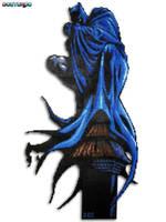 Dark Knight Batman Bead Sprite by DrOctoroc