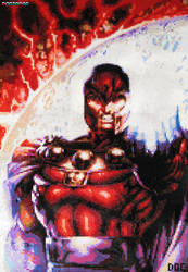 Magneto Large Bead Sprite by DrOctoroc