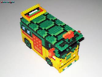 TMNT Party Van 3-D Bead Sprite