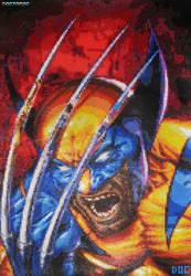 Wolverine Large Bead Sprite by DrOctoroc