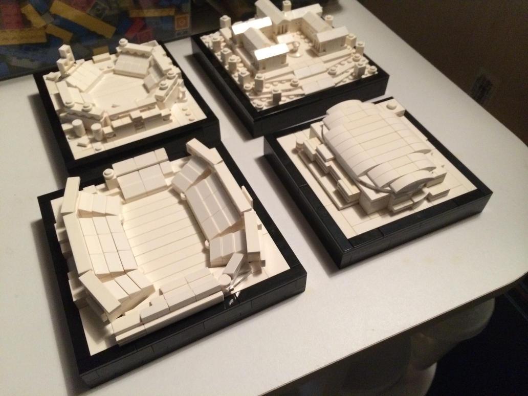 Legodelphia All Satellite Models By Droctoroc On Deviantart