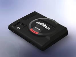 1:5 Scale Sega Genesis (Model 01)