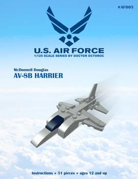 AV/8B Harrier - LEGO MOC Instructions