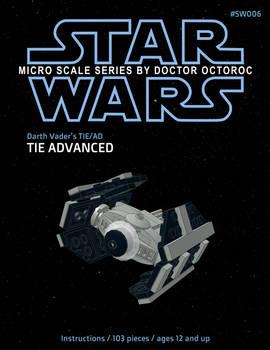 Darth Vader's Tie Advanced - LEGO MOC Instructions