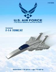 F-14 Tomcat - LEGO MOC Instructions