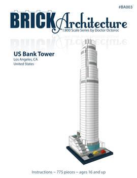 U.S. Bank Tower - LEGO MOC Instructions