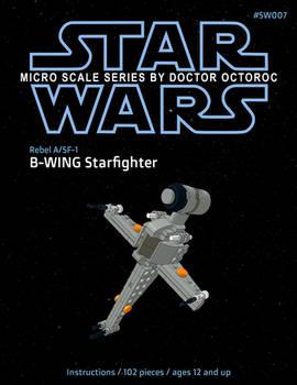 Rebel B-Wing - LEGO MOC Instructions