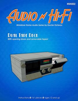 Dual Tape Deck - LEGO MOC Instructions