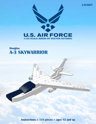 A-3 Skywarrior - LEGO MOC Instructions