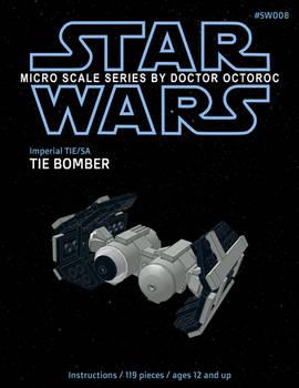 Imperial Tie Bomber - LEGO MOC