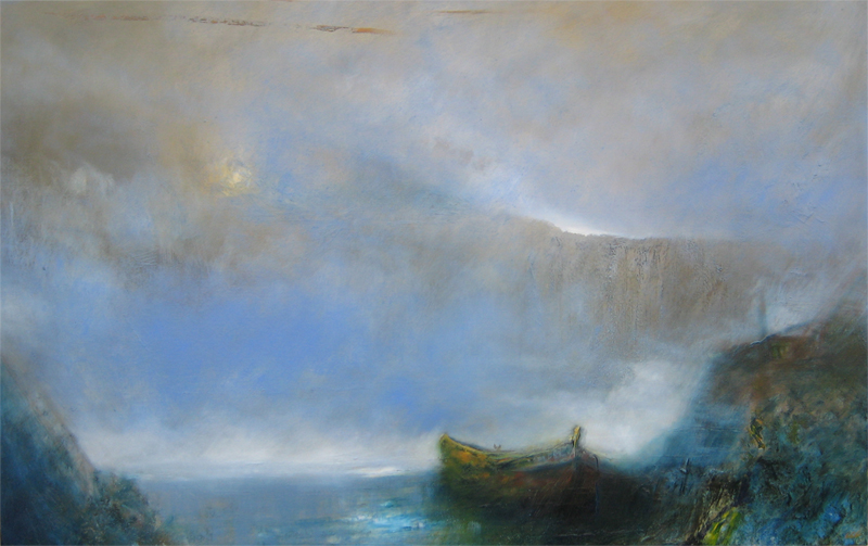 The bay. 120 cm x 80 cm by myrmann