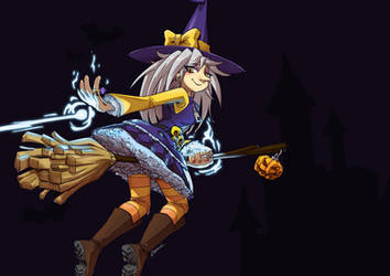 Halloween Witch by raphahardt