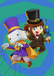 Hat In Time - BattleBlock Theather Crossover by raphahardt