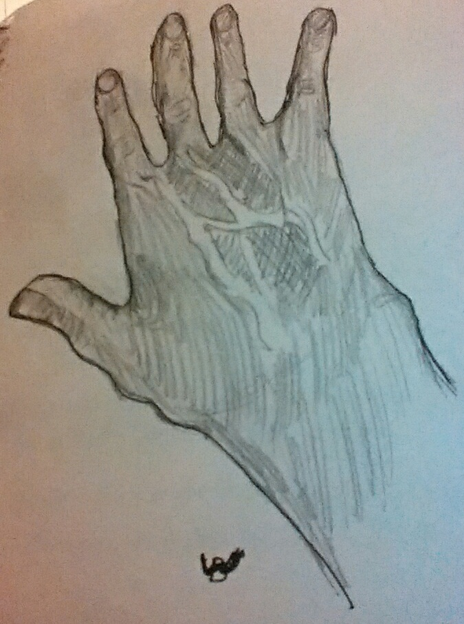hand by bookwormartist