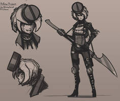 Blunthead sketches