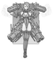 Cannon Girl by Brobossa
