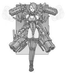 Cannon Girl by Brobossa