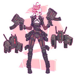 Gun Girl by Brobossa