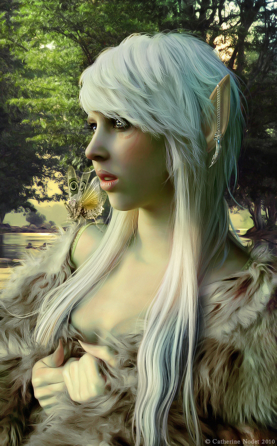 White Elf by CatherineNodet