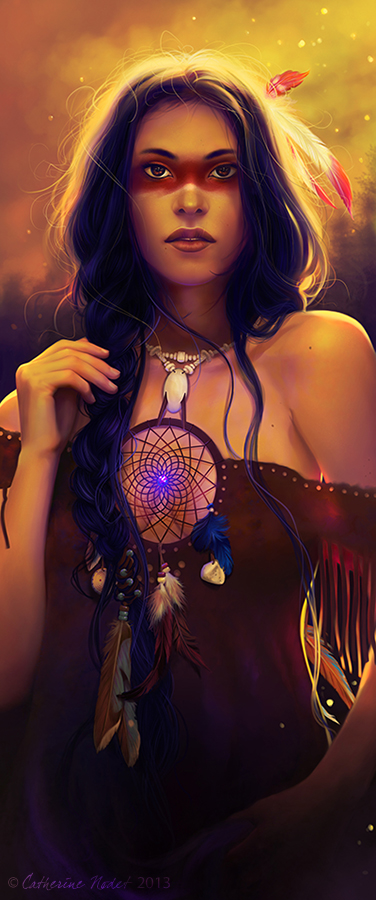 Dreamcatcher by CatherineNodet