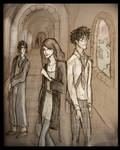 Lily, James and snape
