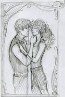 Scorpius and Rose- longing by HILLYMINNE