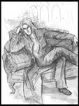 lucius lounging