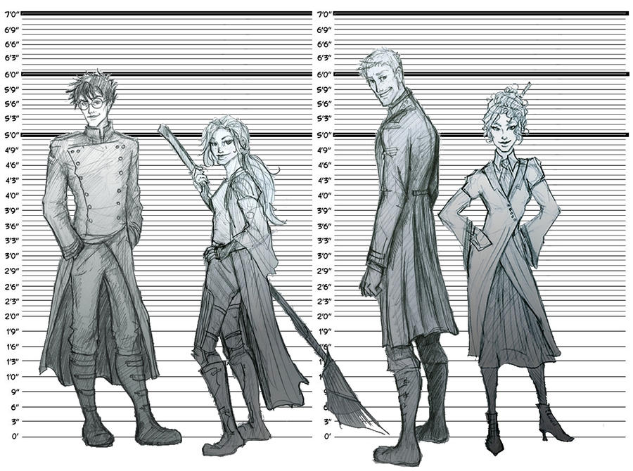 Height chart by Hillary-CW