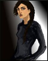Katniss by HILLYMINNE
