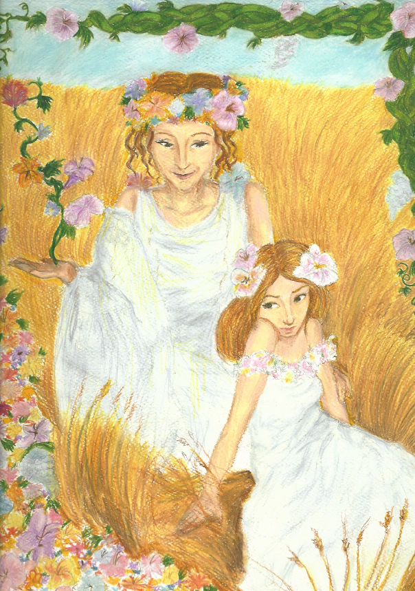 Persephone and Demeter Picture, Persephone and Demeter Image