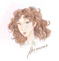 Hermione Granger by HILLYMINNE