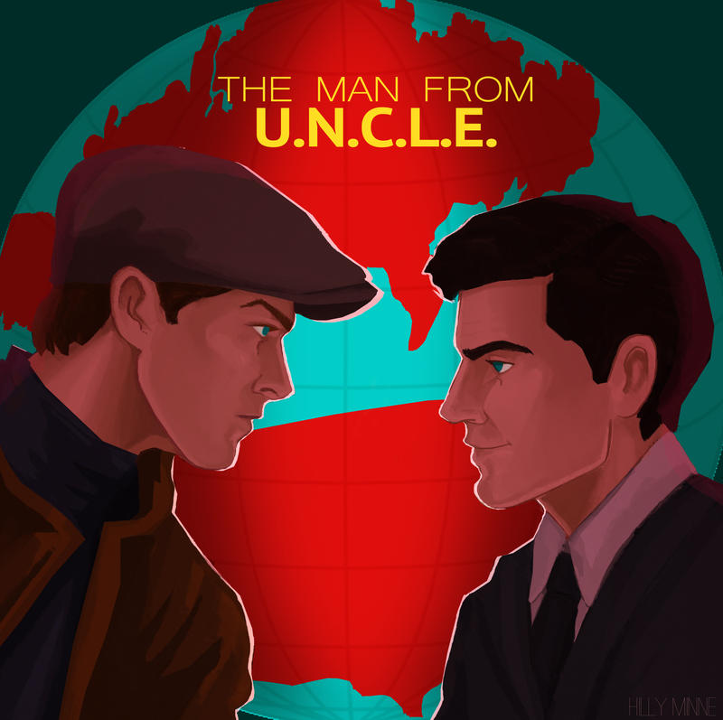 The Man from UNCLE poster by Hillary-CW