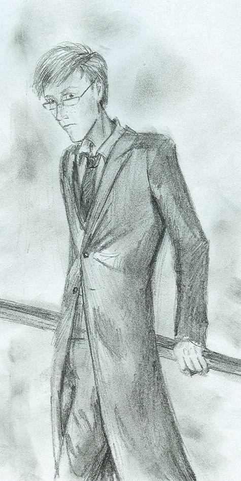 Percy Weasley by HILLYMINNE