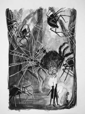'Gigantic' - Aragog by HILLYMINNE