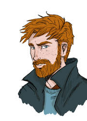 Ron with a beard by HILLYMINNE
