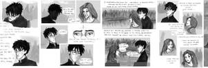 The finished HBP Chap 30 comic