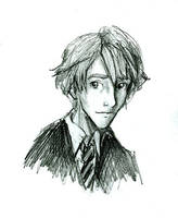Young Remus by HILLYMINNE