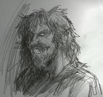 Fenrir Greyback by HILLYMINNE