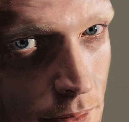 Paul Bettany portrait by Hillary-CW