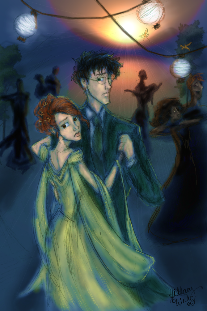Dancing at the wedding by Hillary-CW