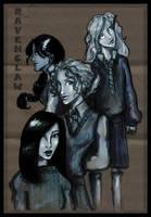 Ravenclaw girls by HILLYMINNE