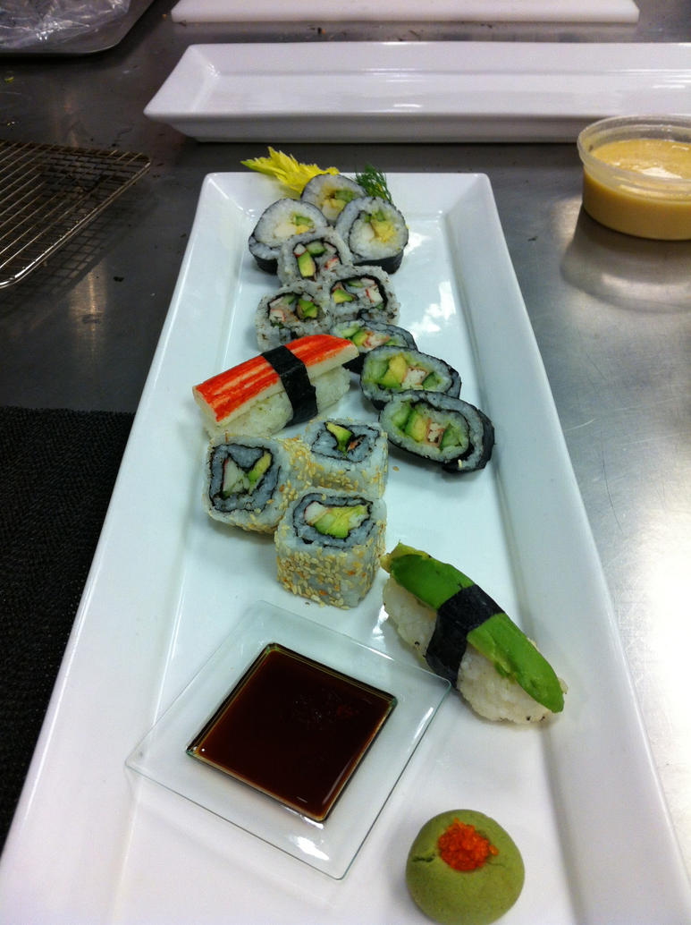 Sushi Presentation 1 by kristinyates