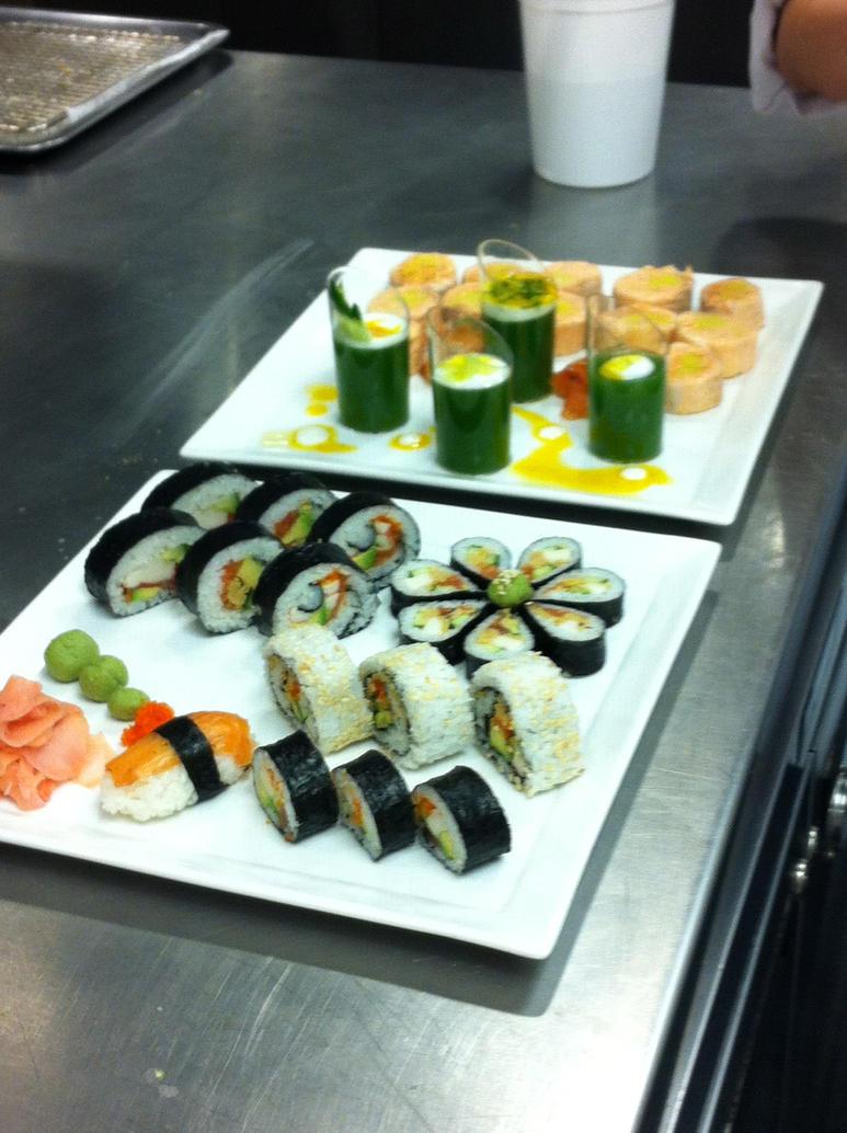 Sushi Presentation 3 by kristinyates