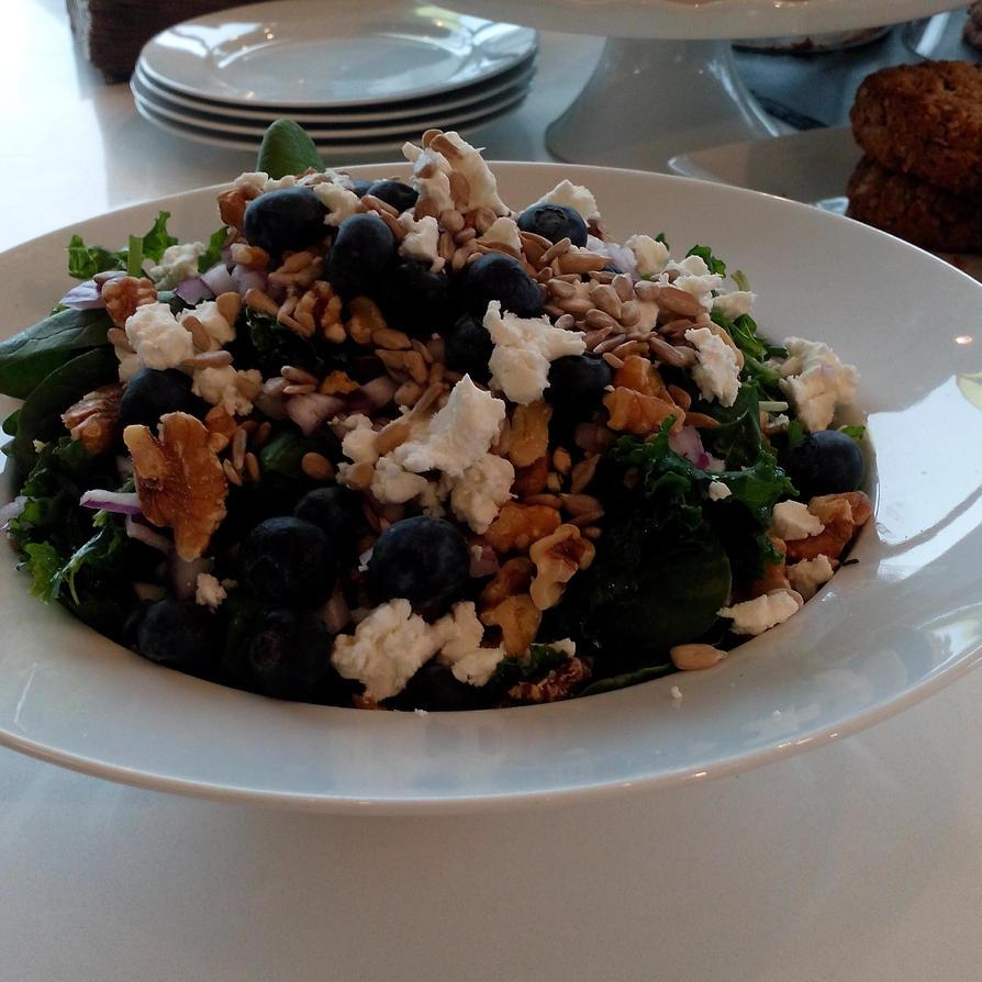 Kale Salad by kristinyates