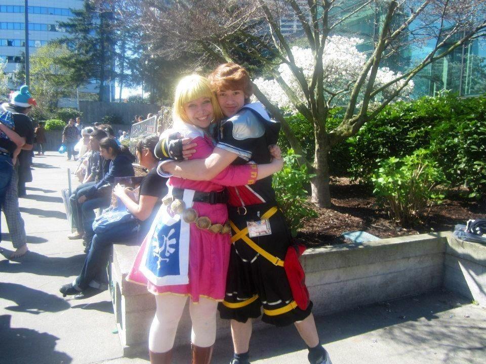 Sakura con 2013 Sora and Zelda by XGamer-MaidenX
