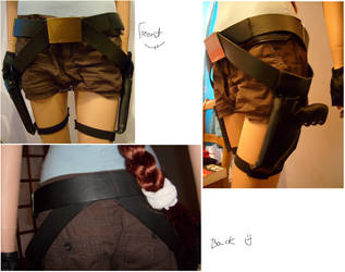 TR cosplay holster belt update by Madenice