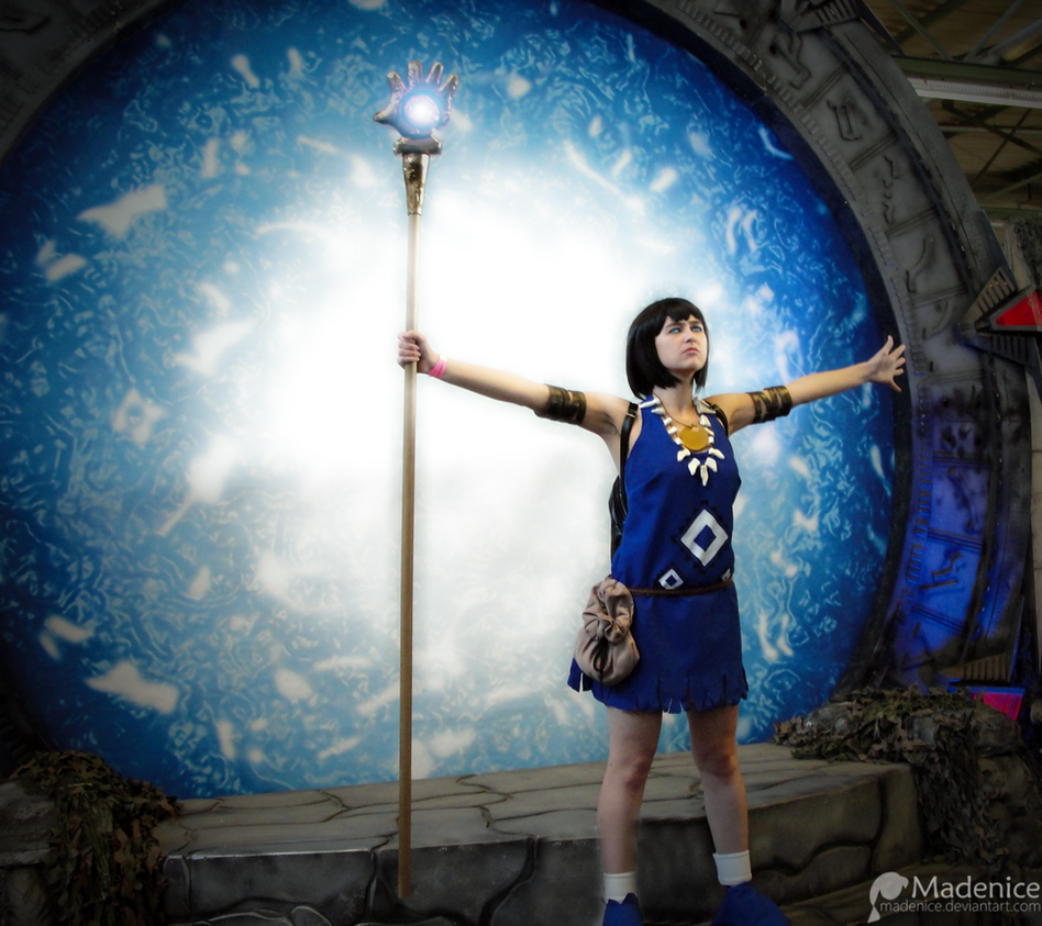 Populous: The Blue Shaman at Stargate 2 by Madenice
